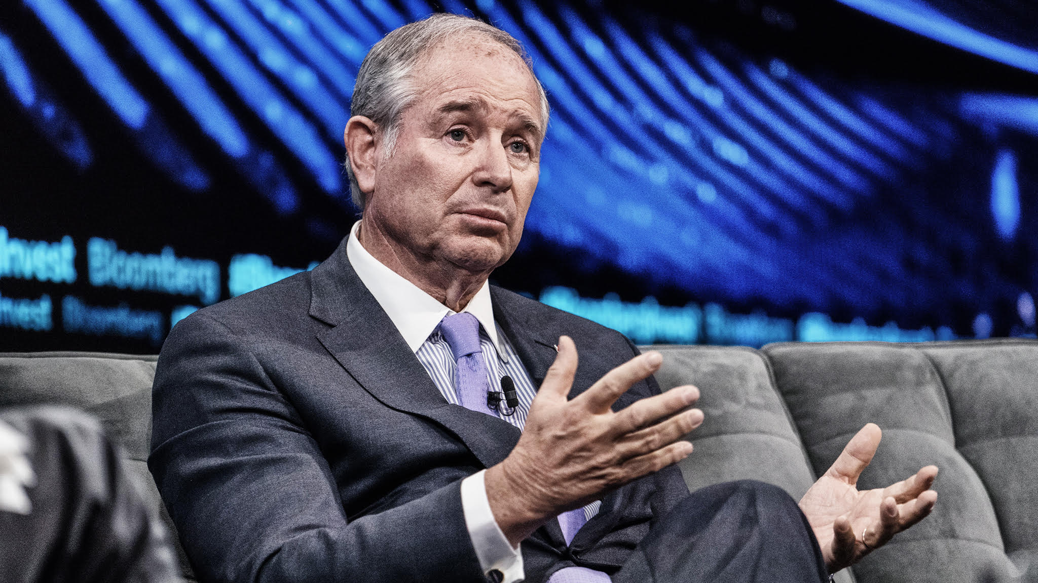 Stephen Schwarzman – Chairman, CEO and co-founder of Blackstone  © Bloomberg